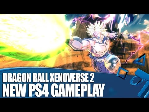 Dragon Ball Xenoverse 2 PS4 Gameplay - It Looks Just Like The TV Show!