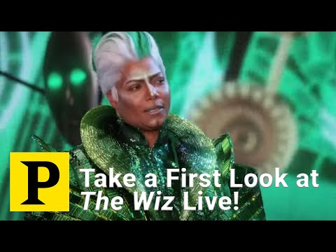 Take a First Look at The Wiz Live!