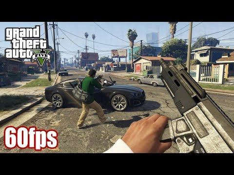 Grand Theft Auto V (PS4/XB1/PC) - First Person Mode Trailer (60fps) [1080p] TRUE-HD QUALITY