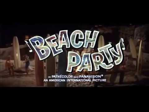 Beach Party (1963) Trailer