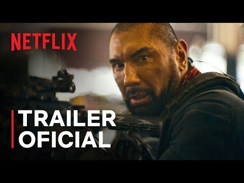 Army of the Dead: Invasão em Las Vegas   Trailer oficial   Netflix
