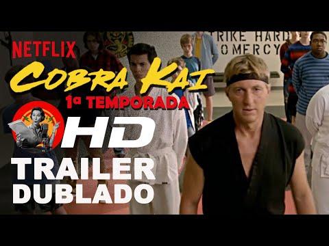 Cobra Kai: 1ª temporada - trailer dublado (Netflix)