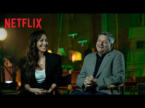 Ted Sarandos e Sabrina Sato no set de Reality Z | Netflix Brasil