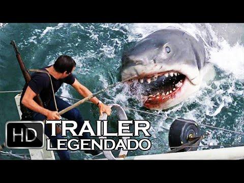 Tubarão (1975) JAWS Trailer LEGENDADO