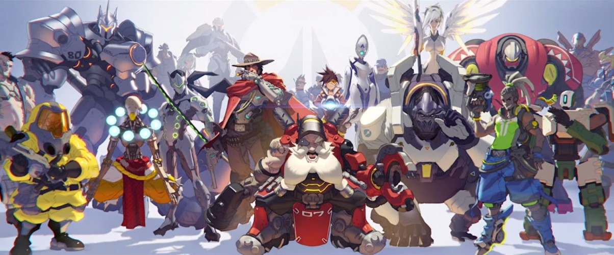 Overwatch-Characters