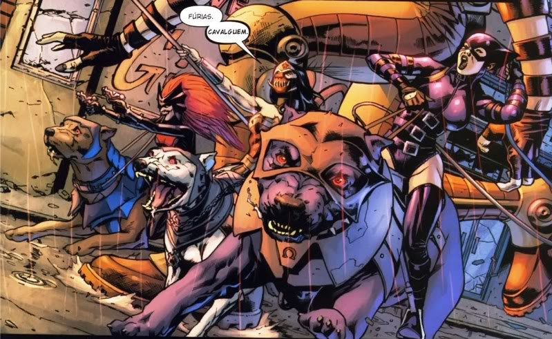 Fúrias de Darkseid - Crise Final