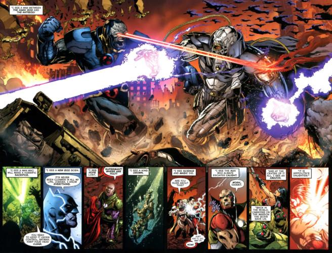 Darkseid: Guerra - Darkseid vs Anti-Monitor