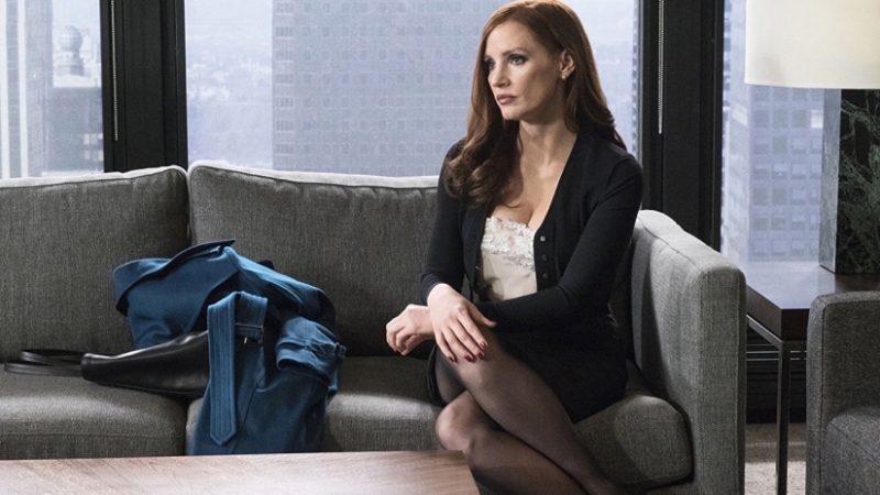 Jessica Chastain em A Grande Jogada