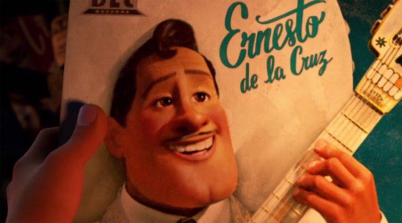 O lendário Ernesto de la Cruz da animação Viva