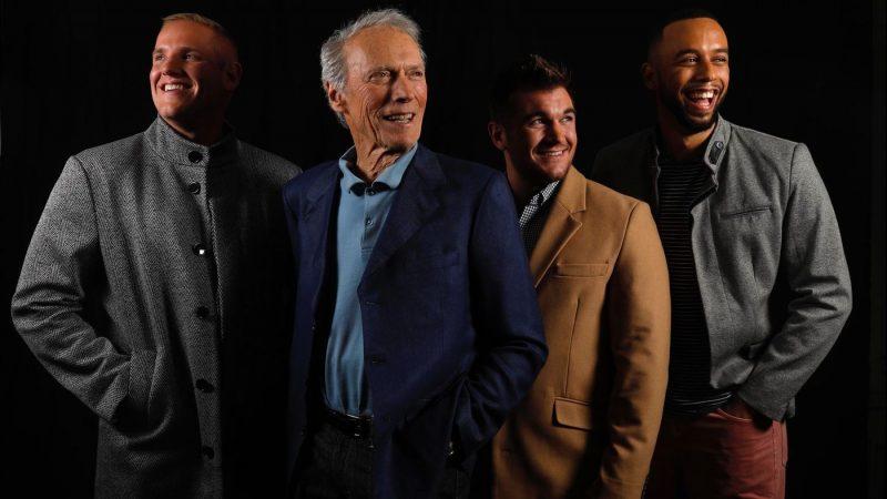 Spencer Stone, Clint Eastwood, Alek Scarlatos e Anthony Sedler