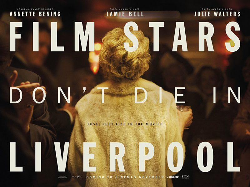 Pôster bafônico de Estrelas de Cinema Nunca Morrem