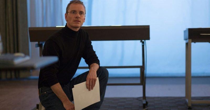 Michael Fassbender é Steve Jobs