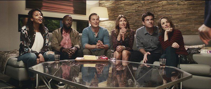 O elenco em cena