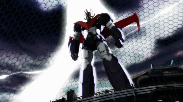 Um dos robôs de Mazinger Z: Infinity