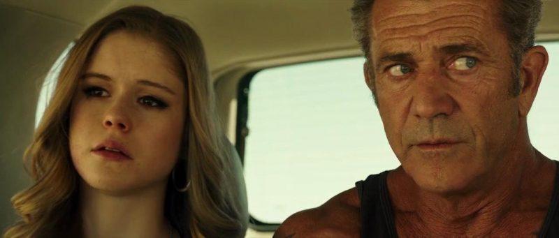 Erin Moriarty e Mel Gibson