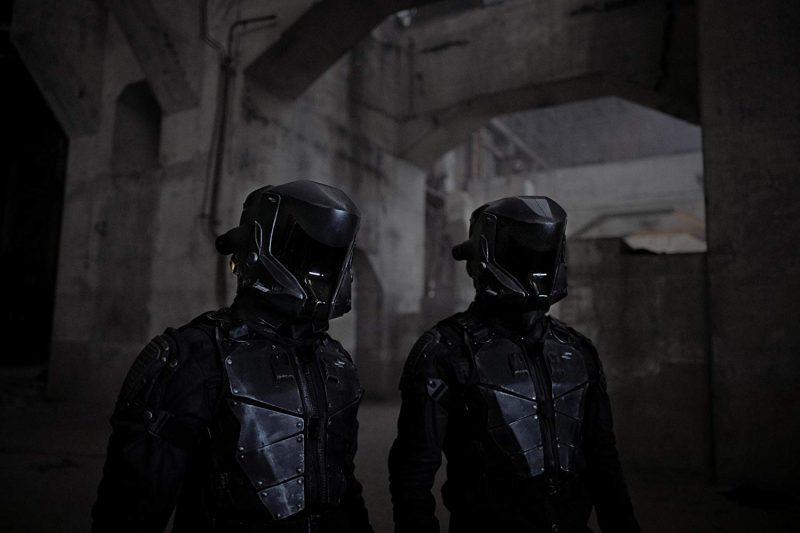 Os misteriosos soldados de super tecnologia