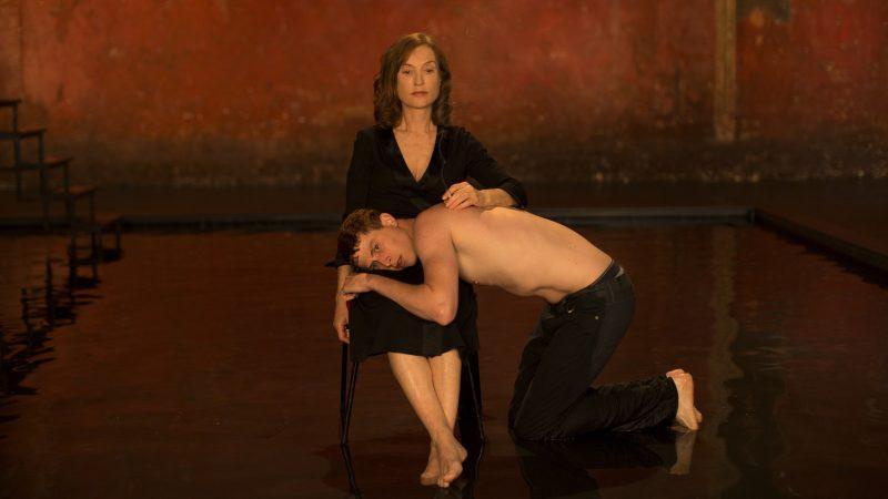 Isabelle Huppert e Finnegan Oldfield em Marvin