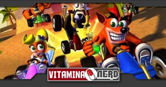 Crash Team Racing pode chegar ao PS4 - Vitamina Nerd