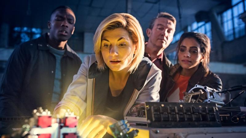 Dessa vez, o Doutor tem três acompanhantes