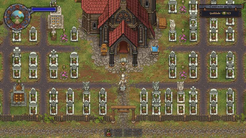 Cemitério de Graveyard Keeper