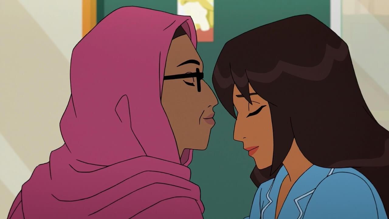 Kamala e mãe em Marvel Rising: Secret Warriors