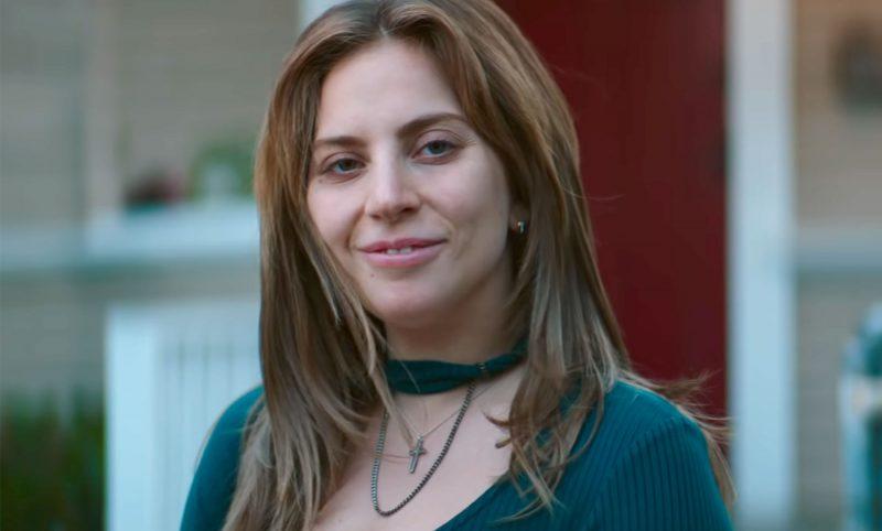 Nasce uma Estrela Lady Gaga  Interpretando seu primeiro papel como protagonista.