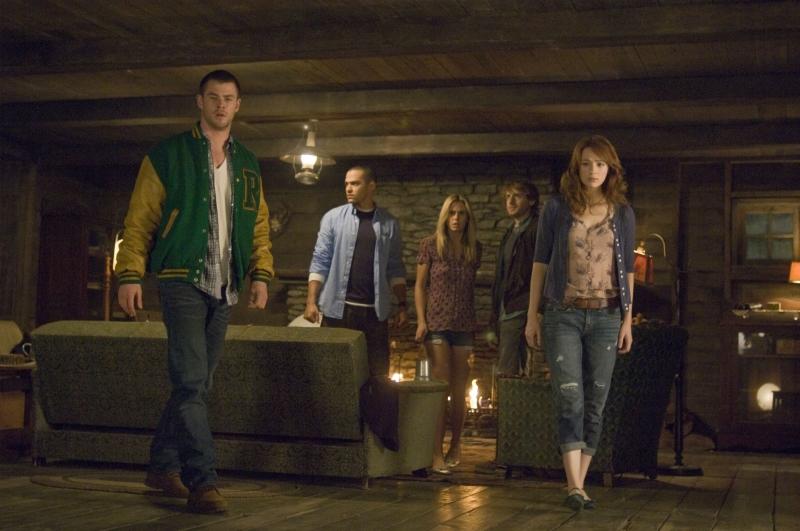 Cinco amigos são os personagens do filme