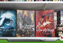 As Crônicas de Artur, de Bernard Cornwell