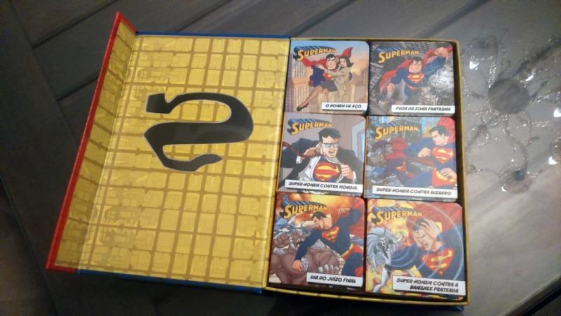Olha o Box DC Comics bonitão que você pode ganhar
