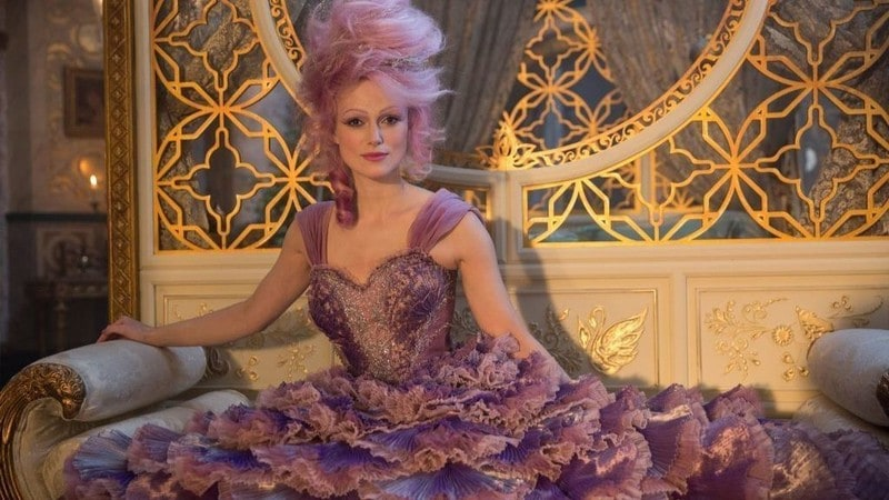 Keira Knightley como a Fada Sugarplum