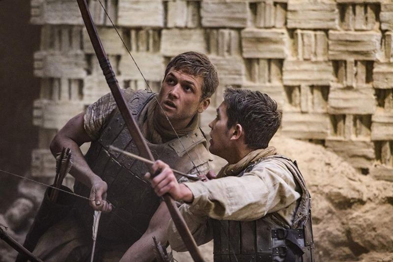 No filme, Robin é um soldado das cruzadas
