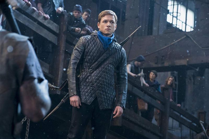 Taron Egerton como Robin Hood