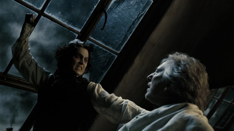 Johnny Depp e Alan Rickman