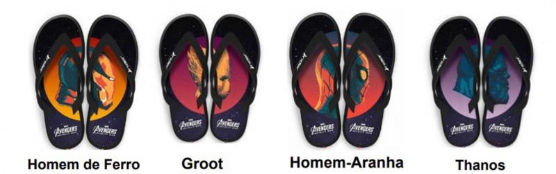 Homem de Ferro - Groot - Thanos