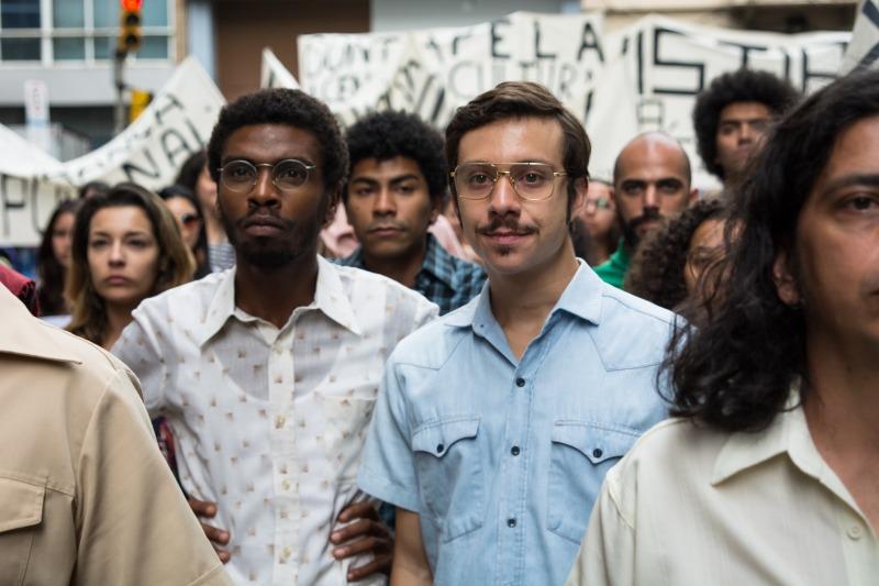 Anderson Vieira e João Pedro Zappa em cena do filme