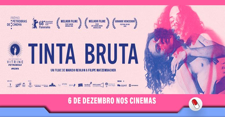 Tinta Bruta, cinema queer com sexo e tristeza
