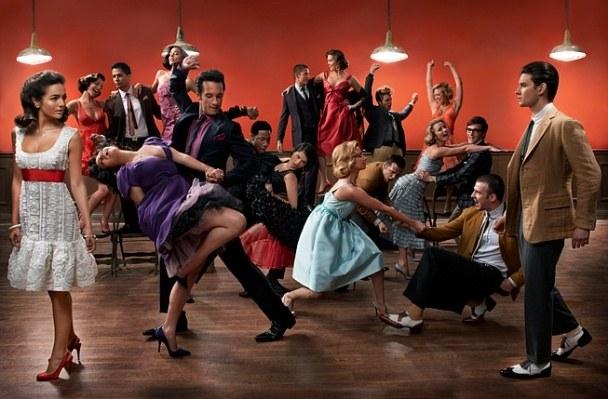 Uma das fotos do ensaio West Side Story Revisited