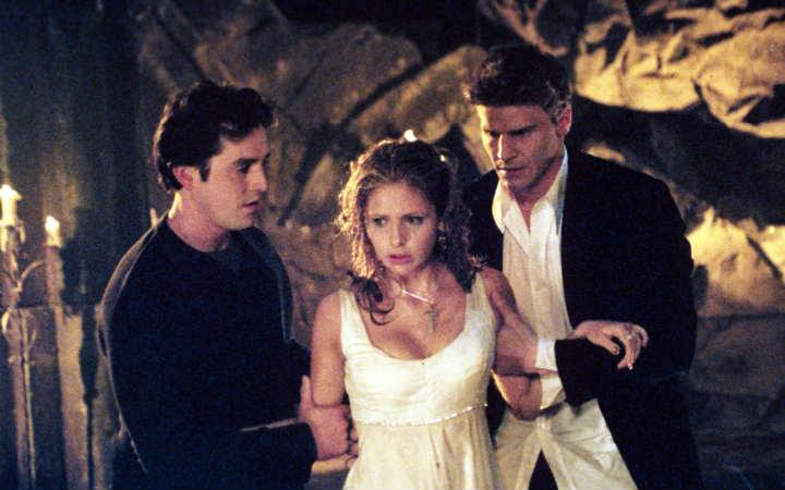 Xander, Buffy e Angel
