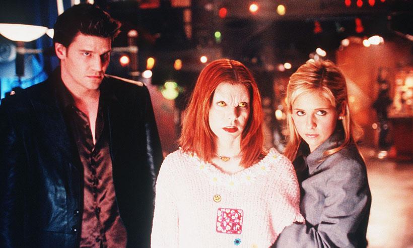 Angel, a versão vampira de Willow e Buffy