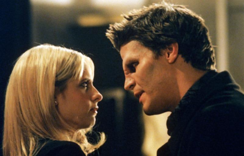 Buffy e Angel, seu par romântico mais famoso