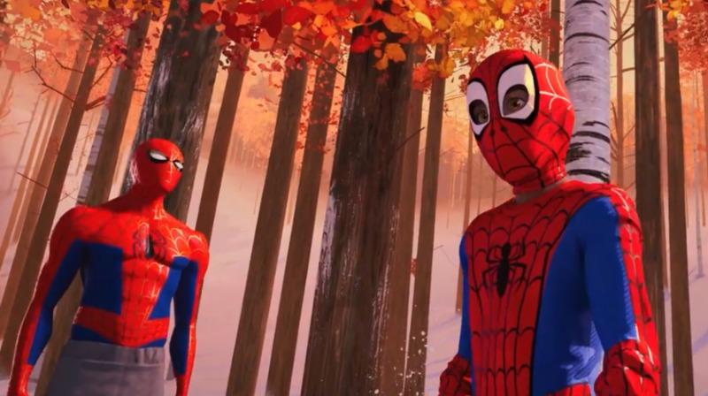 Peter Parker e Miles