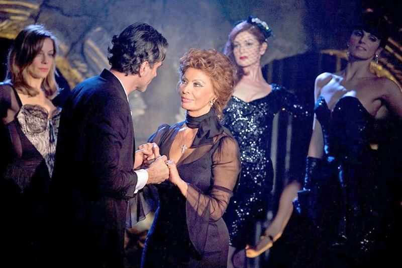 Sophia Loren interpreta a mãe de Guido