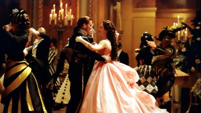 Christine dança com Raoul