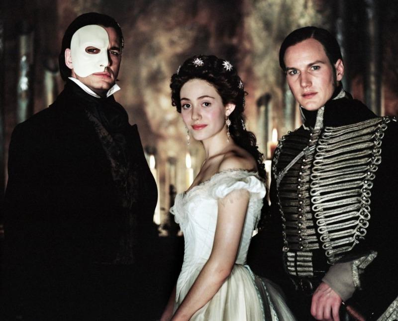 O Fantasma, Christine e Raoul
