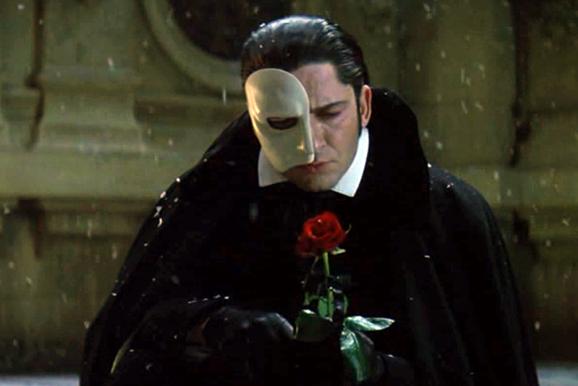 Gerard Butler como o Fantasma