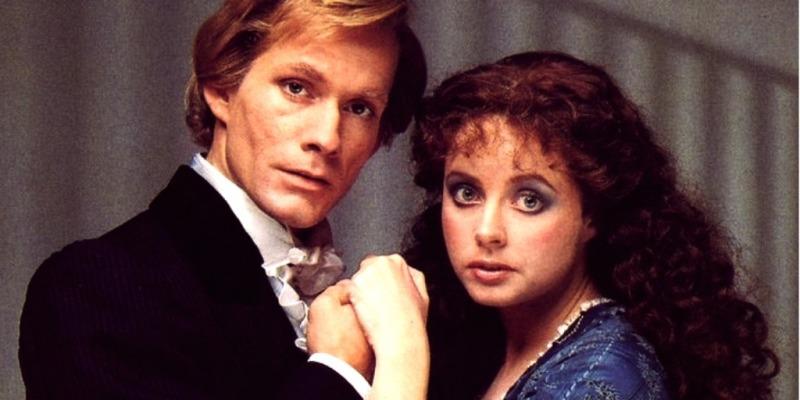 Steve Barton e Sarah Brightman, a intérprete mais famosa de Christine