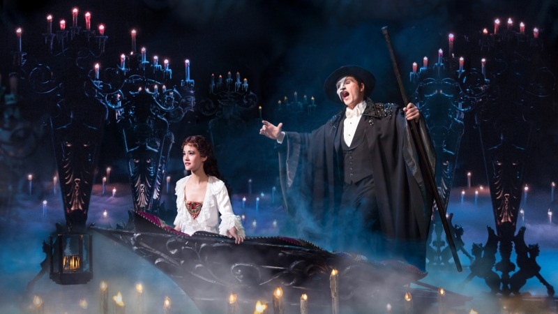 A montagem brasileira de O Fantasma da Ópera