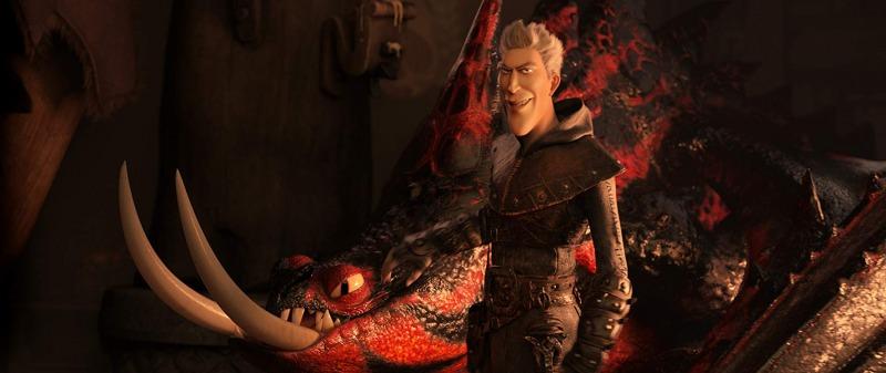 Grimmel, o vilão de Como Treinar o Seu Dragão 3