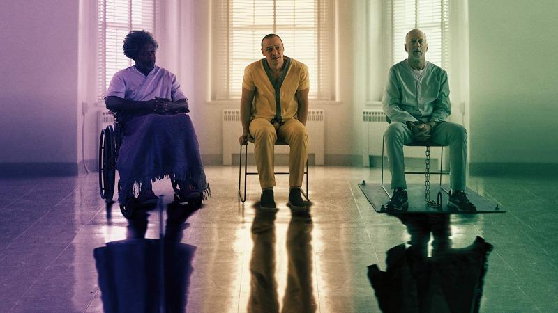 Samuel L. Jackson, James McAvoy e Bruce Willis