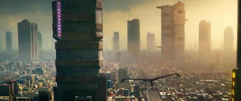 Vista da cidade de Mega-City One